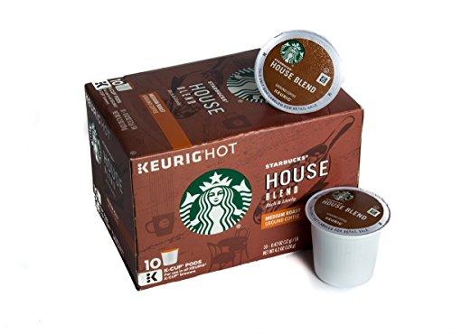 (Starbucks House Blend-K-Cup-10ct)
