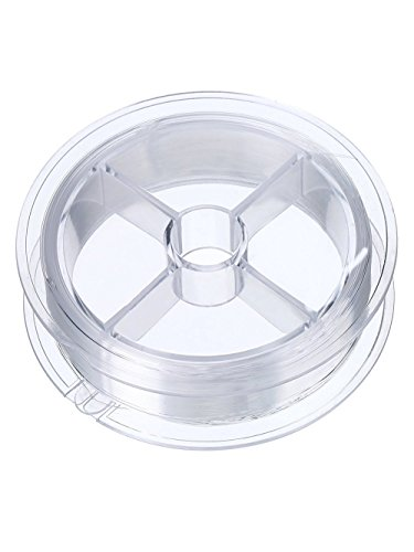 Weimay Clear Invisible Nylon Thread Fishing Line (0.15mm,110 yard,1pcs)
