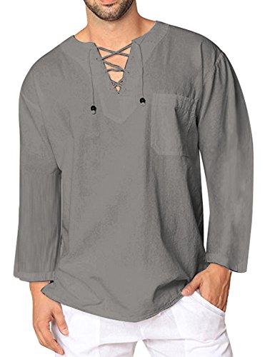 Hot Hipster - JINIDU Mens Casual T Shirts Cotton Hipster Tee Short Sleeve Yoga Tank Top