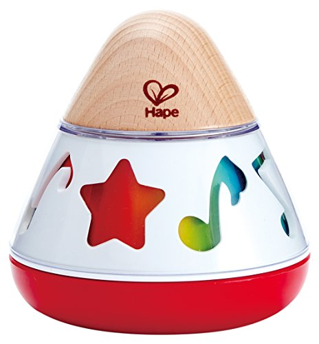 - Hape E0332 Rotating Baby Music Box, Spin & Play The Music, Battery Not Needed, 40 x 40 cm, Multicolor