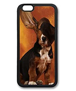 Black Case for iphone 6 Plus,Fashion Cool Art Cool Dog Custom Protective Soft TPU Back Case Cover for iphone 6 Plus by ruishername