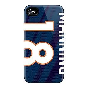 Protector Cell-phone Hard Cover For Iphone 6 (Yfn18801MEcV) Custom Vivid Denver Broncos Skin