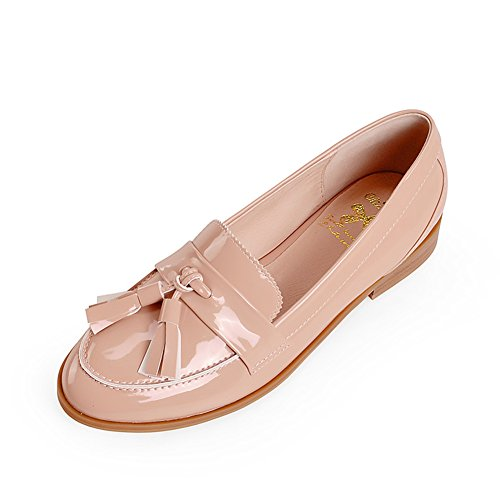 Zapatos de la manera redonda cabeza flujo Su Lefu/Zapatos de primavera D