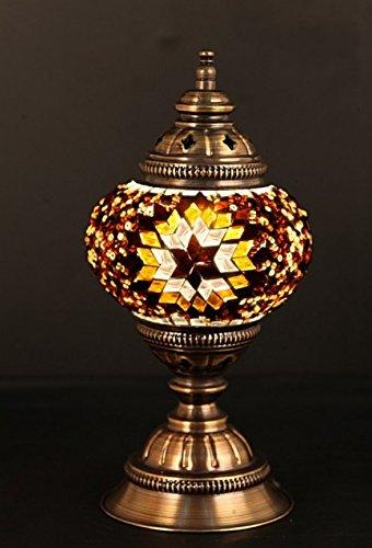 Turkish Lamp, Mosaic Lamp, Table Lamp, Mosaic Lamps, Moroccan Lanterns, Turkish Lamp, Bedside Lighting, Express Shipping]()