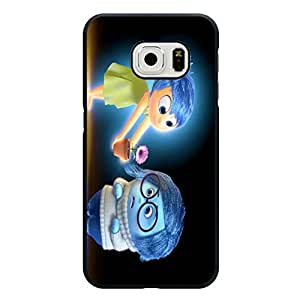 Waming Scene Design Inside Out Phone Case Customized Cover for Samsung Galaxy S6 Edge Cute Cartoon Character