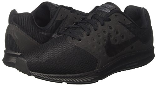 Amazon.com | NIKE Men's Downshifter 7 Running Shoe Black/Metallic  Hematite/Anthracite Size 9 M US | Road Running