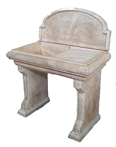 Lavello Lavabo in Cemento da Giardino Lavello completo - Misura ...