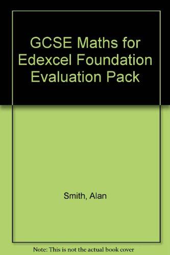 Download GCSE Maths for Edexcel Foundation Evaluation Pack