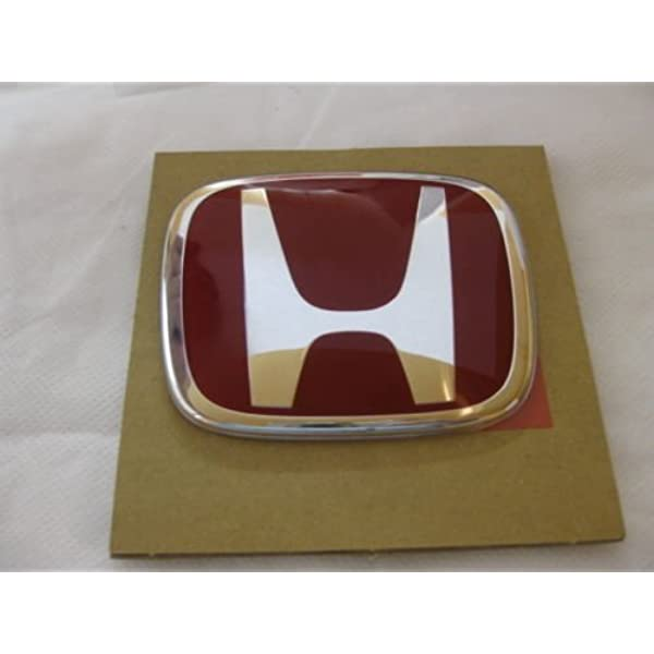 HONDA JDM CIVIC PRELUDE CRX ACCORD JDM HOOD /& TRUNK RED EMBLEM BADGE
