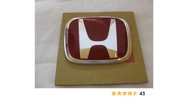 For Honda Type R Emblem White logo badge sicker CIVIC ACCORD SI JDM Trunk