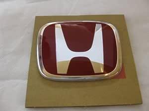 Logotipo delantero JDM rojo Honda Emblema 123mmX100mm