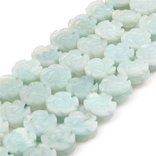 Natural Amazonite Gemstone Loose Beads in Bulk Beads for Jew