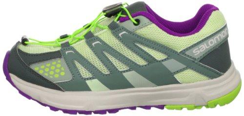 Salomon - Zapatillas de running para niño green - grey - purple Talla:37