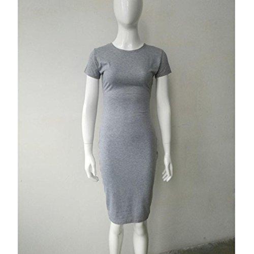 Dress Party Slim Gray Evening Sleeves Dress Short Women Dress Sexy Bodycon Solid Sexy Dress Ladies Kingko® Mini Fashion Long fa4SqO