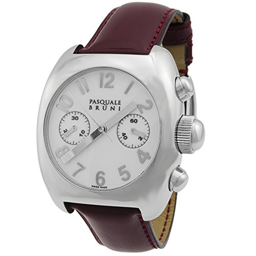 Pasquale Bruni Uomo Chronograph Stainless Swiss Made Automatic Men's Watch 01MCA1BORD