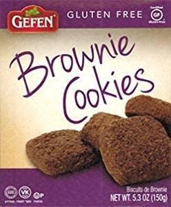 Gefen Brownie Cookies Gluten Free Kosher For Passover 5.3 Oz. Pack Of (Kosher Brownie)