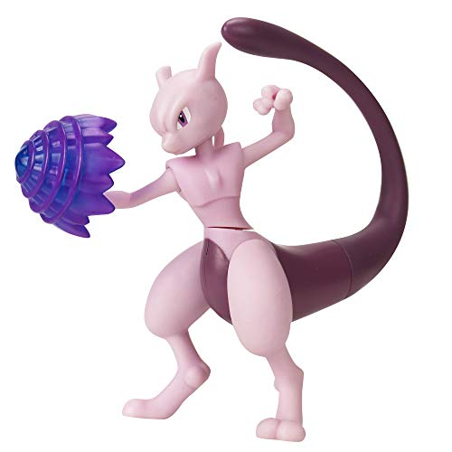 PoKéMoN 4.5' Battle Feature Figure - Mewtwo