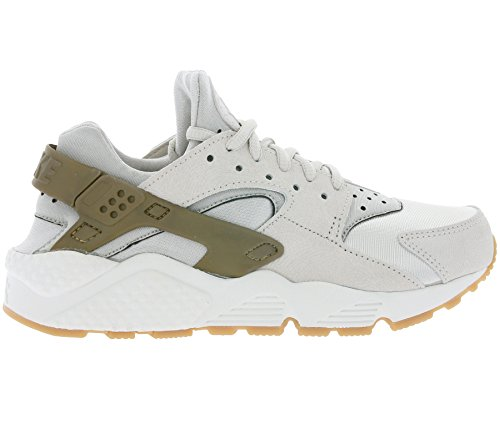 Nike Damen W Air Huarache Run Prm Suede Turnschuhe, Grau Grau (Gamma Grey / Phantom)