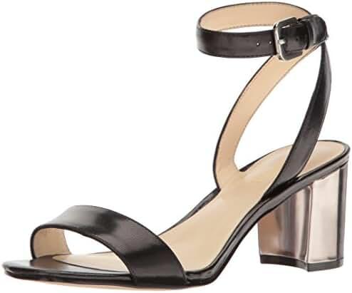 Nine West Women's Tullip Leather Dress Sandal
