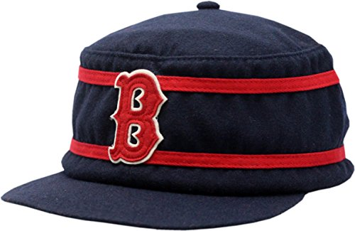 Boston Red Sox Hat Baker Buckle Back (Red Sox American Needle)