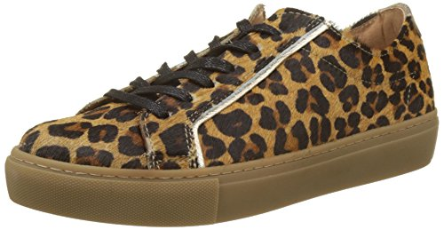 Femme Multicolore Bensimon Chic Leopard Baskets Tennis Iwraqrtx