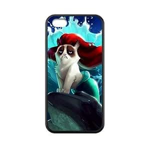 Cute Grumpy Cat Cartoon Mermaid iphone 5/5s iphone 5/5s Best Festival Birthday Gift