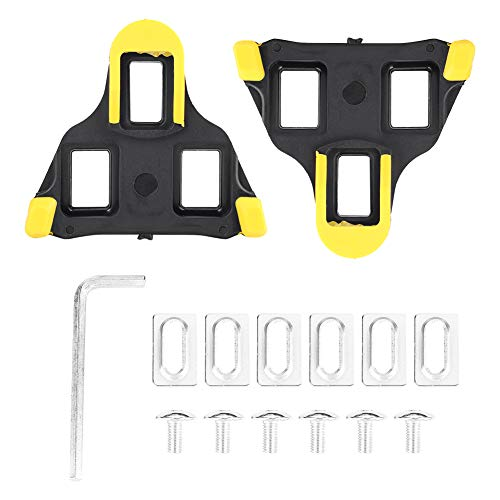 Xingny Pedal Cleat Cover, Cleat Set Compatible with Shimano SPD-SL Pedals, 6 Degree Float for Road Bike Indoor Spin Cycling Shoes Comfortable