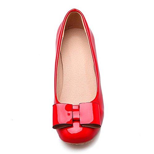 Coolcept Zapatos de Vestir pata Mujer Red-1