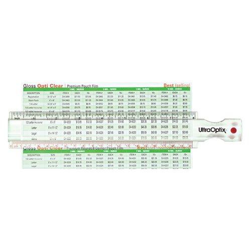UltraOptix 8 Inch Bar Magnifier and Ruler