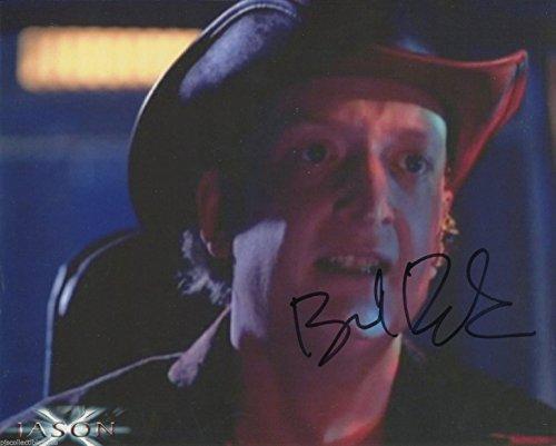 Boyd Banks Signed Jason X Fat Lou Antipathy Color 10x8 Photo With COA