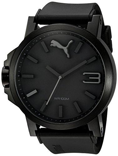 PUMA Men's PU102941001 Ultrasize Black Sport Watch