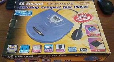 Lenoxx Bp-87 Programmable Portable Cd Player