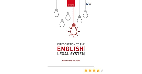 Introduction to the english legal system 2017 2018 martin introduction to the english legal system 2017 2018 martin partington 9780198802488 amazon books ccuart Gallery