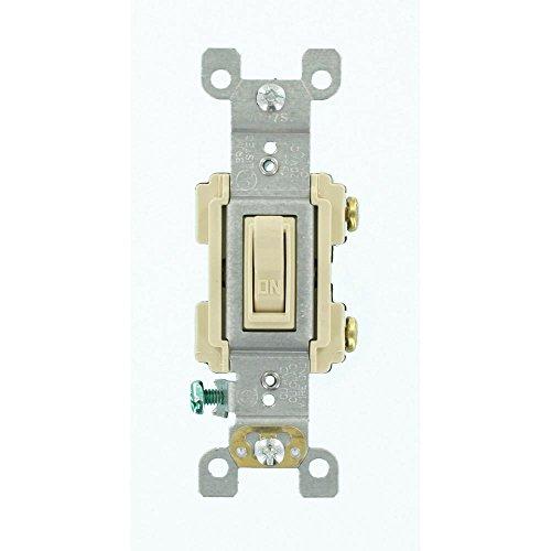 Leviton 15 Amp Preferred Switch, Ivory from Leviton