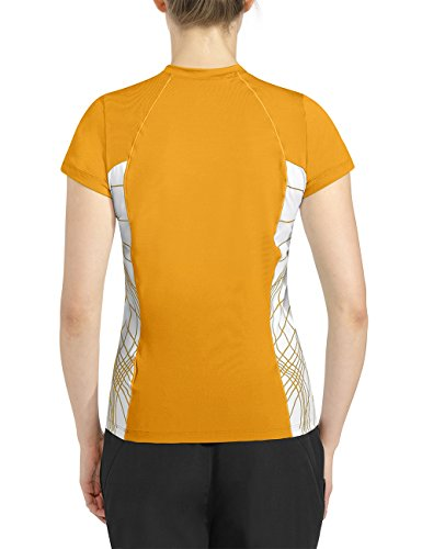 Rono T-Shirt Präsentations - Camiseta amarillo / negro