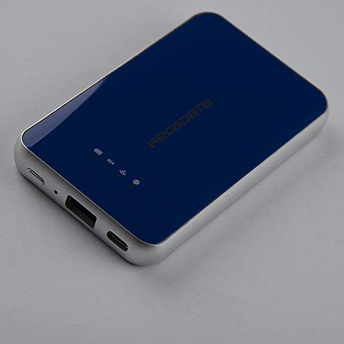 iRecadata i8 External Solid State Drive 128GB, Wireless WiFi Portable SSD, USB3.1 Type-C, WiFi Portable Router, 2250mAh Power Bank by irecadata (Image #2)