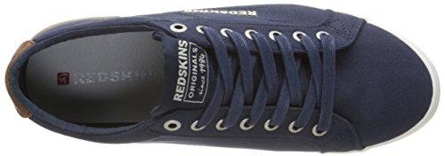 Redskins Segar - Zapatillas de deporte Hombre Azul - Bleu (Marine/Cognac)
