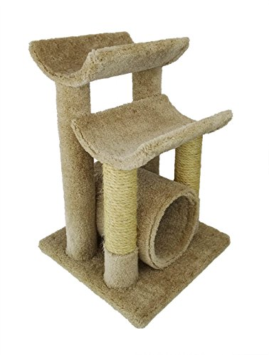 New Cat Condos Premier Cat Scratch and Sleep Furniture, Beige