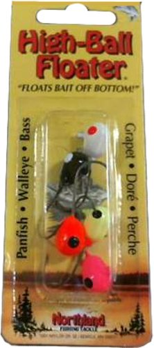 - Northland Tackle High-Ball Floater Jig, Assorted, 2 Hook