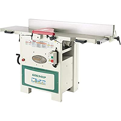 Grizzly G0634XP Spiral-Polar Bear Series Planer/Jointer, 12-Inch