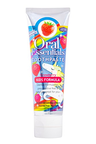 Childrens Fluoride Free Toothpaste - 9
