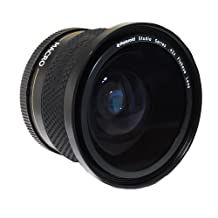 Polaroid Studio Series 52/58mm .42x High Definition Fisheye Lens With Macro Attachment, Includes Lens Pouch and Cap Covers
