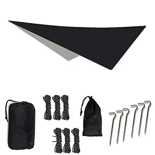 OUTDOOR SKYE 10'x10' Rain Fly Hammock Tent Tarp Extreme Waterproof Protection - Large Canopy is Portable Provides Ideal Shelter Your Camping Hammock Tent