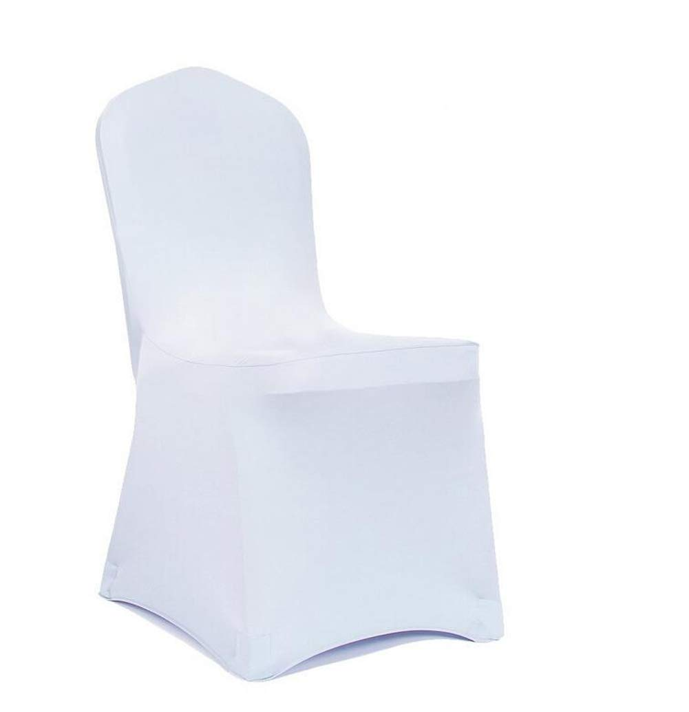 Red Meijuner 4PCS Universal Shiny Lycra Stretch Chair Cover Spandex Slipcovers Dining Chair Seat Cover for Wedding Christmas Party Banquet Home Decoration