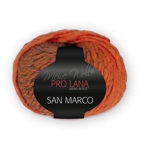ca SAN MARCO von PRO LANA 50 m Wolle Farbe 84-50 g
