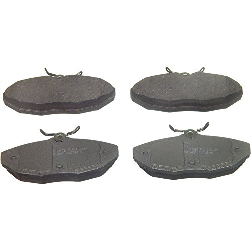 Wagner ThermoQuiet PD806 Ceramic Disc Pad Set, Rear