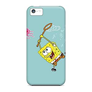 EmptySpiral Awesome Case Cover Compatible With Iphone 5c - Spongebob