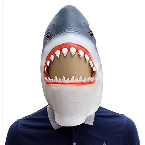 アニマルマスク サメ 鮫 マスク コスプレ グッズ ラテックスマスク ハロウィン パーティー コスプレ道具 仮装 小物 仮面