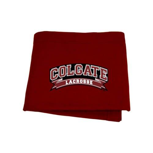 Colgate Maroon Sweatshirt Blanket 'Lacrosse'