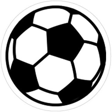 Vijk kor - Pegatinas de balón de fútbol (3 Unidades): Amazon.es: Hogar
